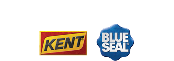 Kent Nutrition Group, Kent, and Blue Seal logos