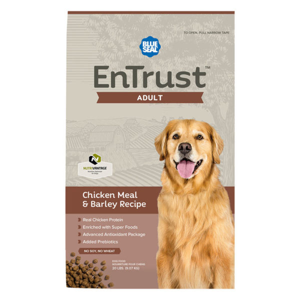 EnTrust Adult Chicken Meal & Barley Recipe